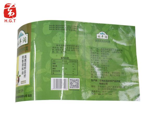 黄港同调和油食品标签定制