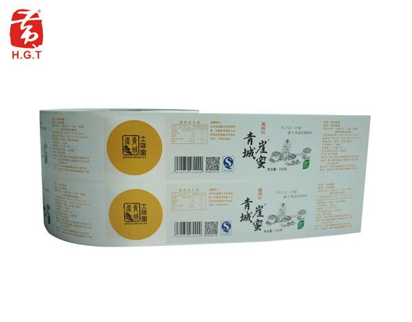 黄港同蜂蜜标签定制