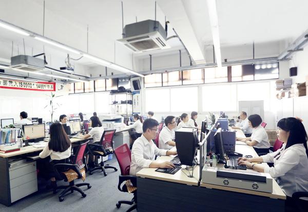 黄港同办公环境