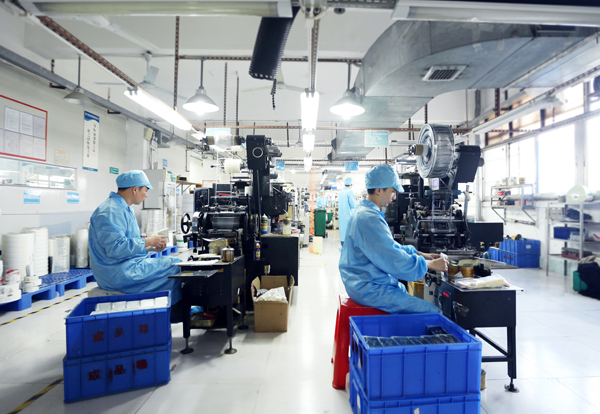 黄港同生产车间展示