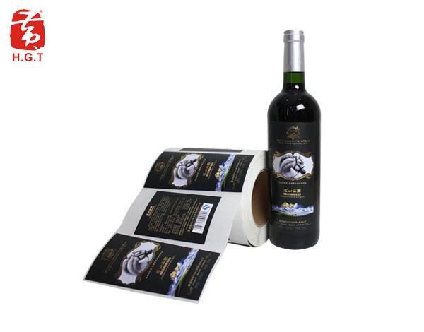 黄港同局部UV酒标定制印刷